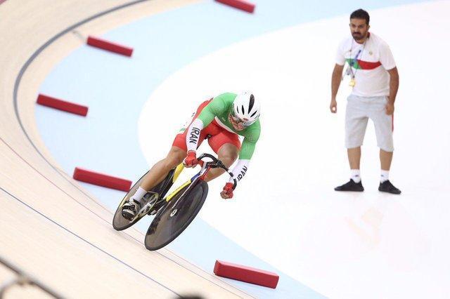 صعود دو رکابزن ایران به مرحله بعد ماده اسپرینت بازیهای آسیایی