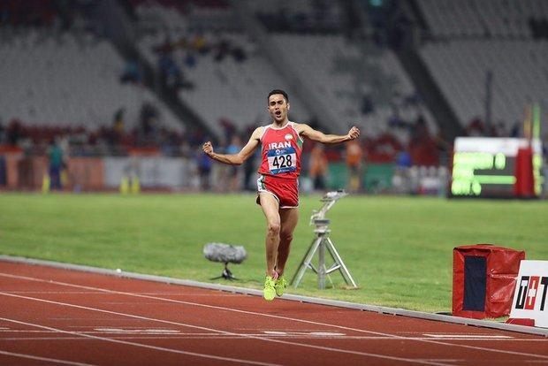 تغییر زمان برگزاری رقابت دونده ایران در فینال دوی 5000 متر