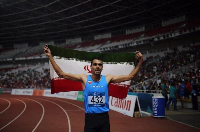 سومین مدال دوومیدانی ایران در بازی های آسیایی، نقره 1500 متر برای امیر مرادی