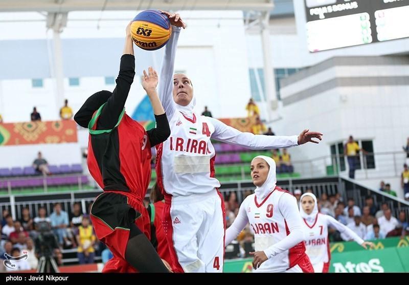 بسکتبال سه نفره کاپ آسیا، تیم دختران زیر 18 سال ایران به نیمه نهایی نرسید