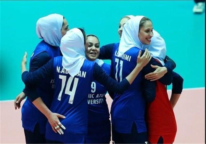جام کنفدراسیون های آسیا، پیروزی بانوان ایران برابر قزاقستان در بازی اول