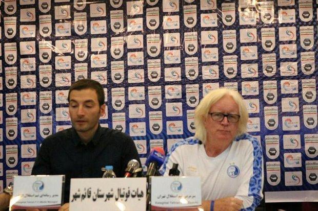 خوشحالم یک ایرانی داور بازی استقلال است، باید تیم جدیدی درست کنیم