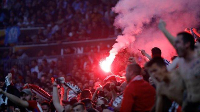 یوفا طرفداران اتلتیکو مادرید را جریمه کرد