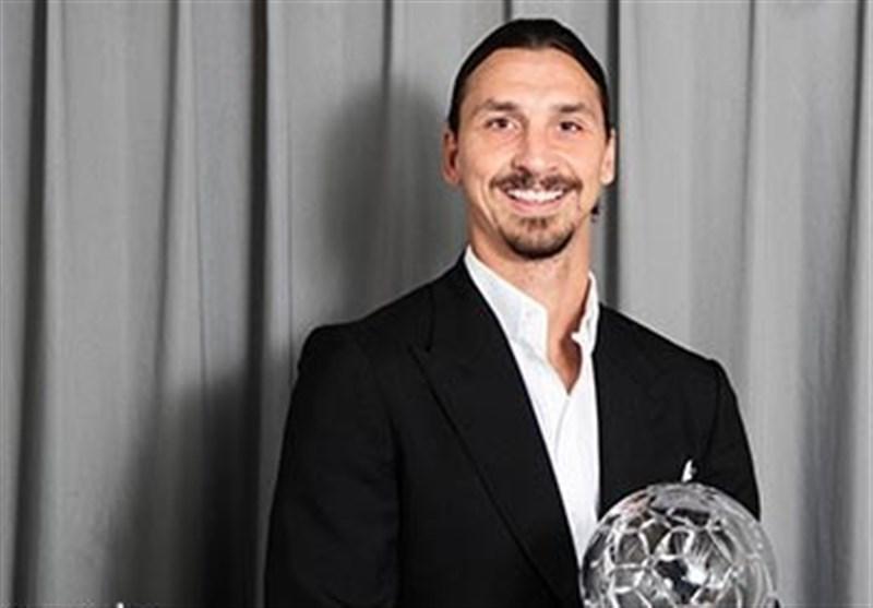 زلاتان ابراهیموویچ مهاجم سال فوتبال سوئد شد، دست قدوس به جام نرسید