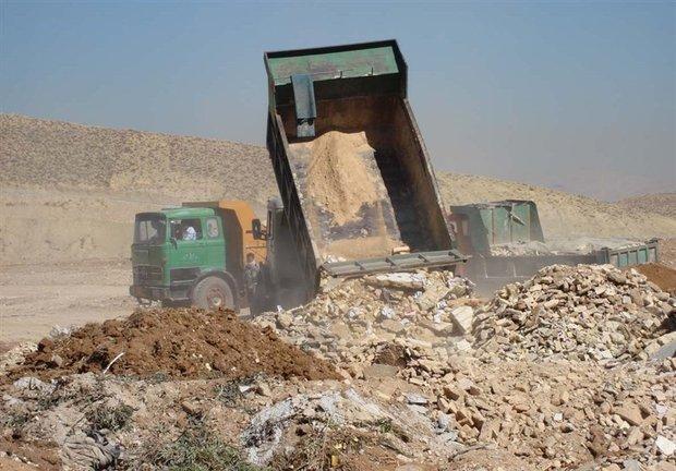 طرح ویژه نخاله های بلاصاحب ساختمانی در سمنان اجرا می گردد