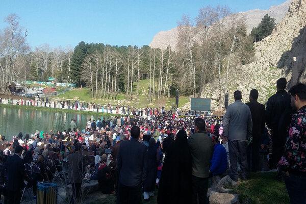 نخستین جشنواره ملی آئین های نوروزی درکرمانشاه آغازشد، ثبت ملیآگر
