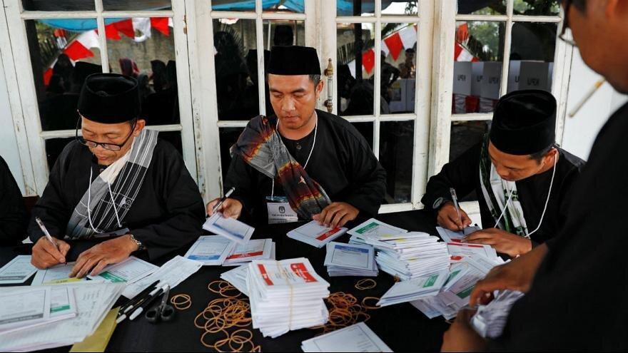 انتخابات ریاست جمهوری اندونزی ، جوکو ویدودو پیشتاز شمارش اولیۀ آراء