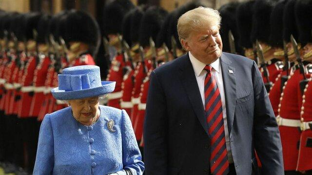 دونالد ترامپ به انگلیس سفر می نماید