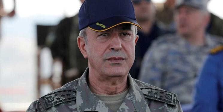 هشدار وزیر دفاع ترکیه به یونان و قبرس