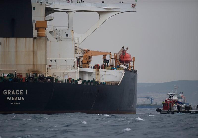 درخواست آمریکا برای ادامه توقیف نفتکش ایرانی در جبل الطارق