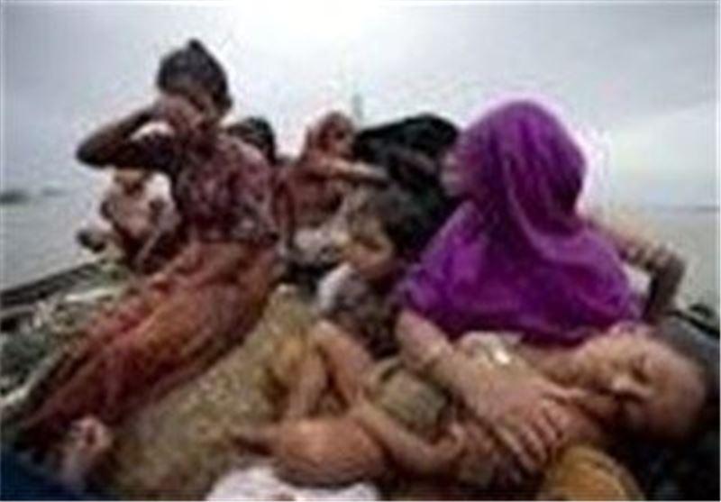 هزاران نفر از مسلمانان میانمار به تایلند گریختند