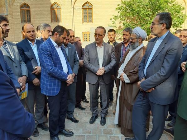 باغ مزار شیخ شهاب الدین اهر در راستا جهانی شدن