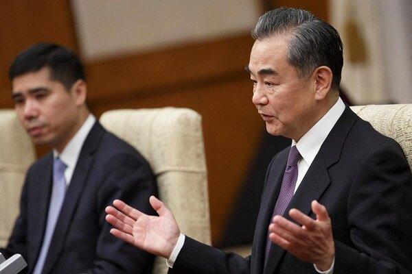 وانگ ئی:آمریکا به حق حاکمیت چین احترام بگذارد