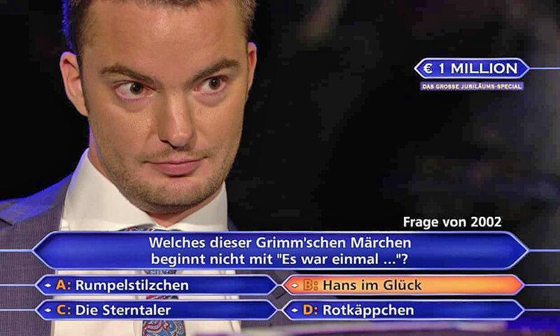 یک میلیون یورو جایزه تلویزیونی ، وکیل پیگیر آلمانی میلیونر شد