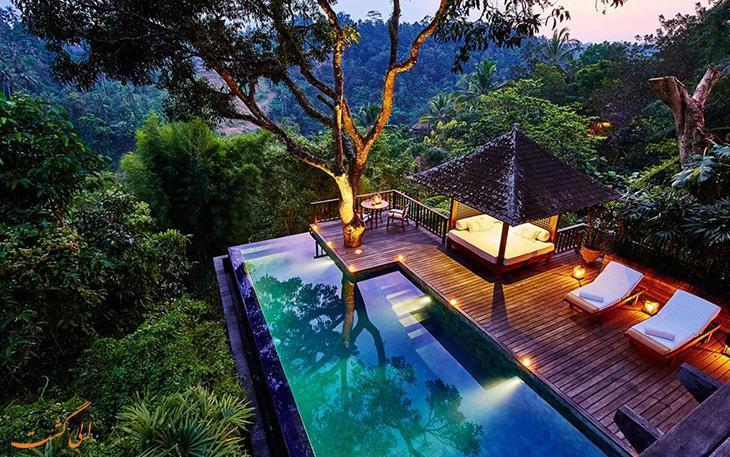 بهترین و لوکس ترین هتل های بالی به انتخاب مسافران