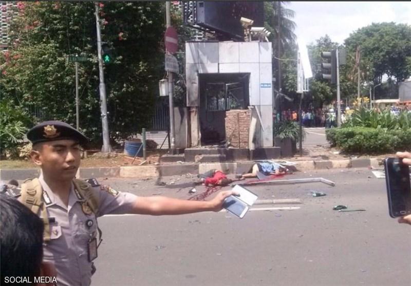 وقوع 6 انفجار مهیب در جاکارتا، ده ها نفر کشته و زخمی شدند
