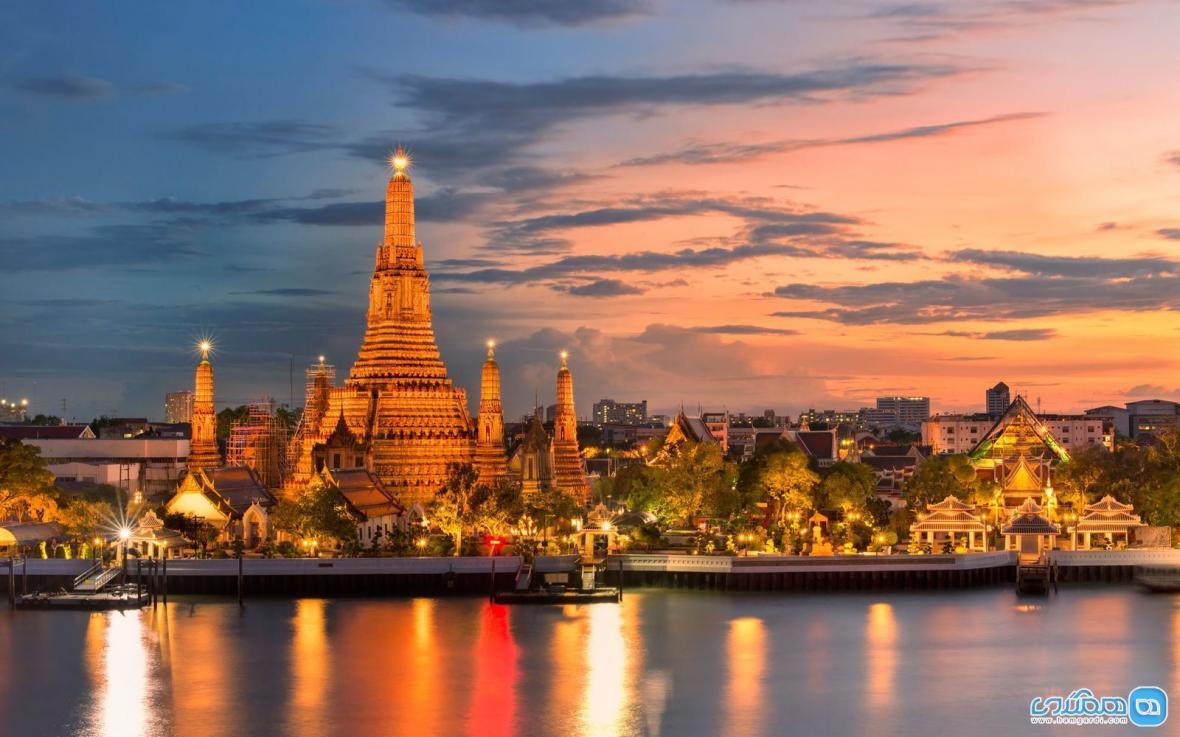 جاذبه های گردشگری بانکوک، دیدنی های تراز اول تایلند