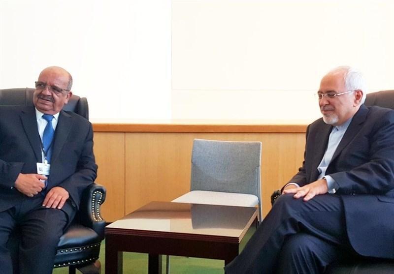 دیدارهای ظریف با همتایان الجزایری و اندونزیایی و معاون دبیر کل سازمان ملل