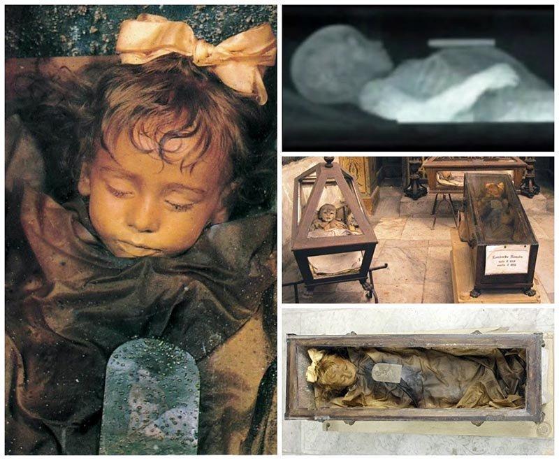 راز کودک مومیایی شده ایتالیا