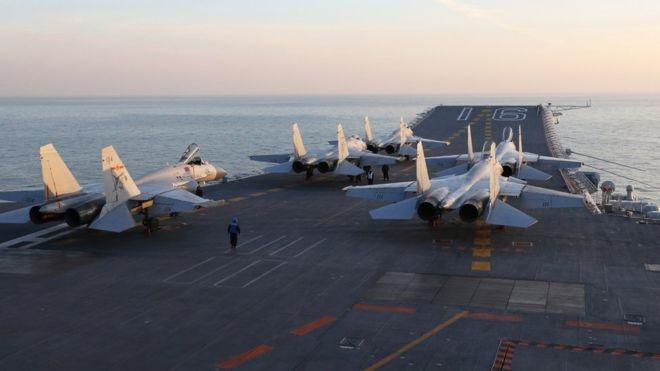 اعتراض ژاپن به حضور ناو هواپیمابر چین در اقیانوس آرام