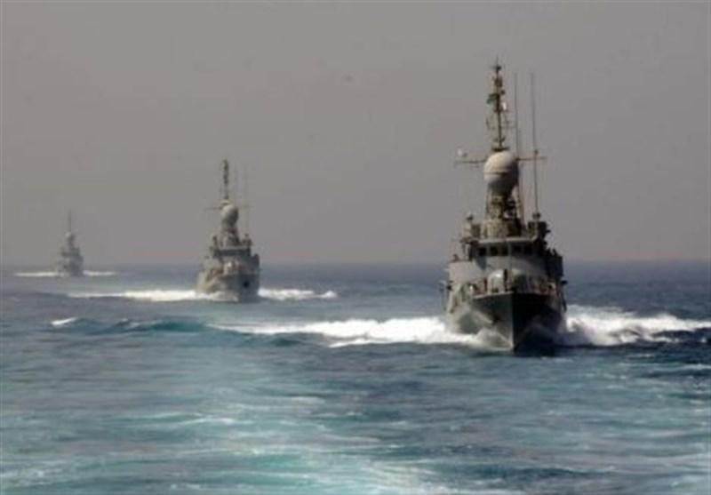 شروع مانور دریایی عربستان در خلیج فارس و دریای عمان
