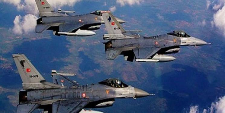 حمله جنگنده های ترکیه به گذرگاه مرزی در سوریه