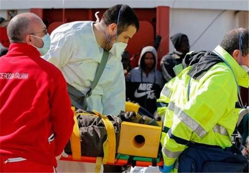 تصاویر نجات مهاجران آفریقایی در سواحل ایتالیا