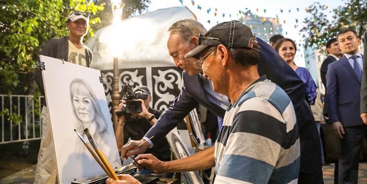 نمایشگاه آثار نقاشی نظربایف برگزار می شود