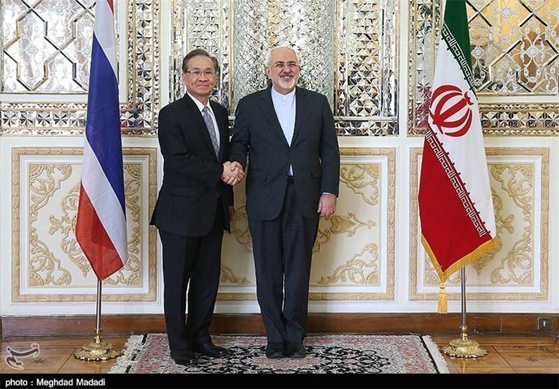 وزرای خارجه ایران و تایلند دیدار کردند