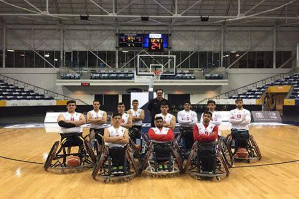 دومین شکست تیم بسکتبال با ویلچر زیر 23 سال ایران در سومین دیدار
