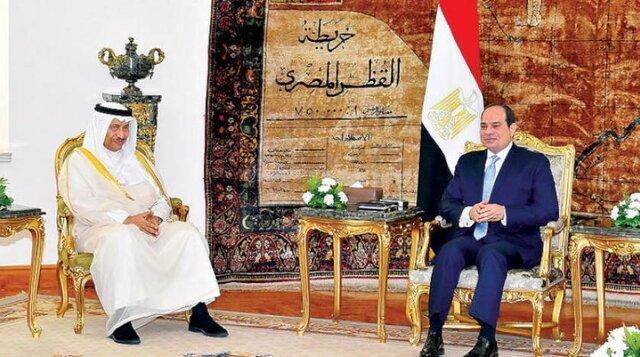 سیسی بر ارتباط امنیت خلیج فارس با امنیت ملی مصر تاکید نمود