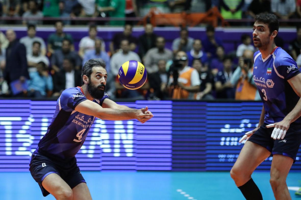 پیروزی تیم ملی والیبال ایران بر بلغارستان