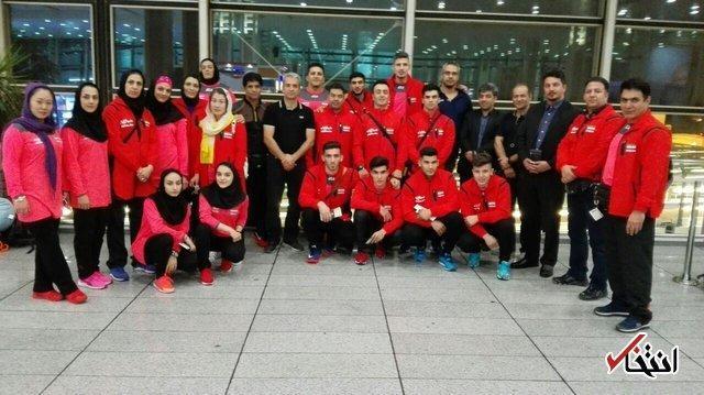 تیم ملی ووشوی ایران برای نخستین بار قهرمان دنیا شد