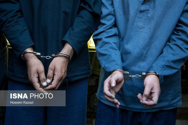 دستگیری باند سارقان خودرو در اهواز