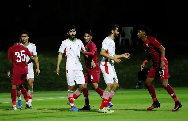 ورود تیم فوتبال المپیک ایران به دوحه، نورافکن، محبى و قائدى امشب در اردو