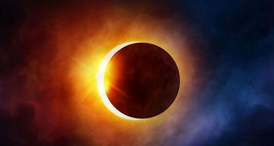زمان دقیق خورشید گرفتگی پنجم دی ماه در ایران و دنیا
