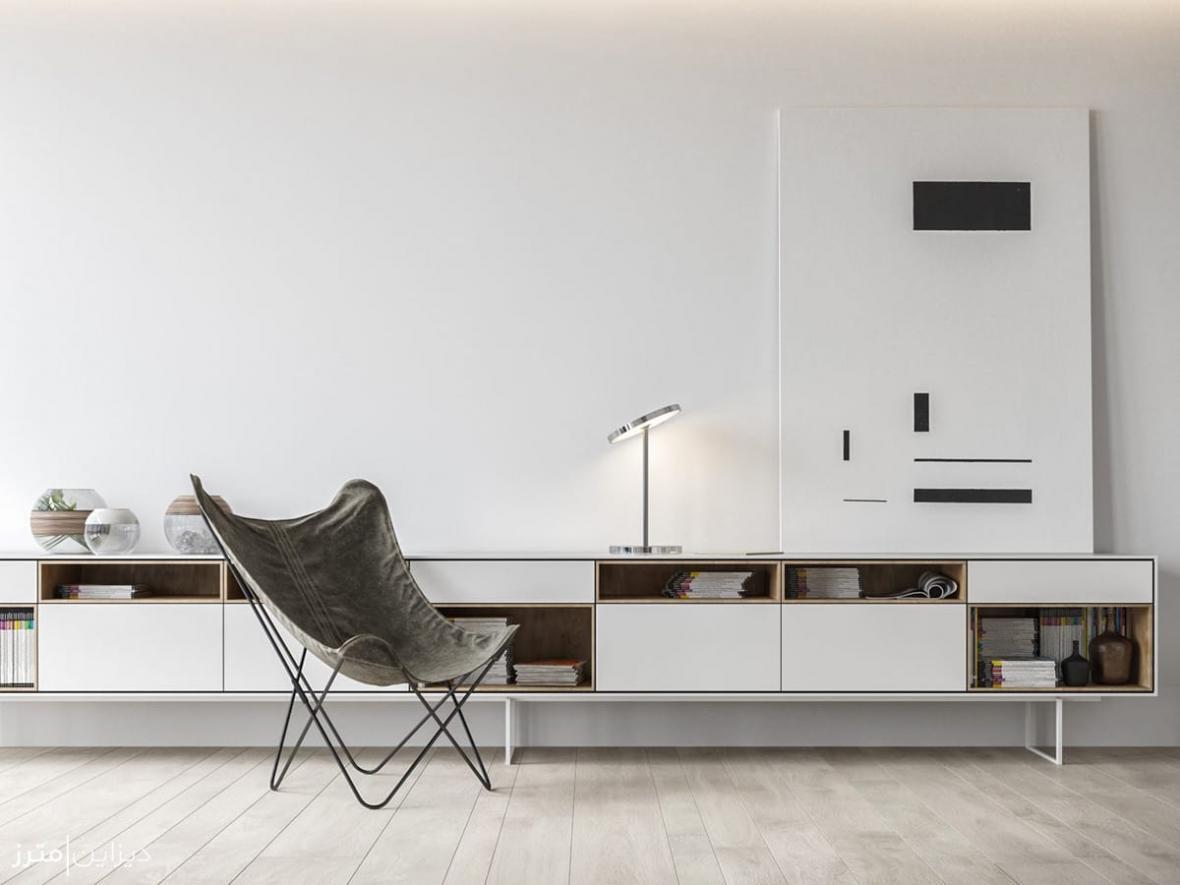 طراحی دکوراسیون داخلی یک آپارتمان در مونته نگرو