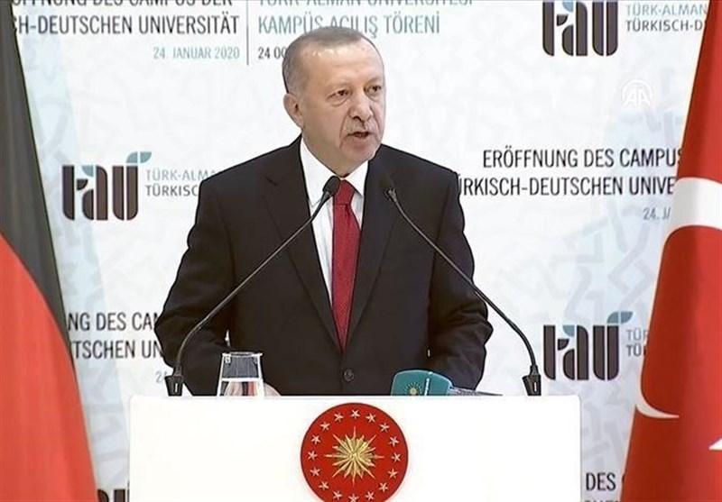 اردوغان: ترکیه با تمام امکانات خود به حمایت از برادران لیبیایی ادامه می دهد