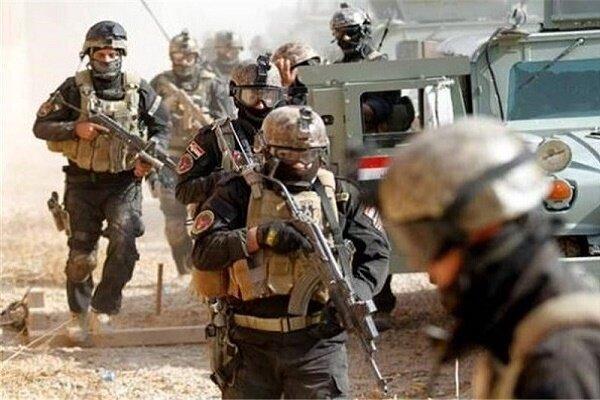 عملیات ضد تروریستی ارتش عراق در شهر موصل