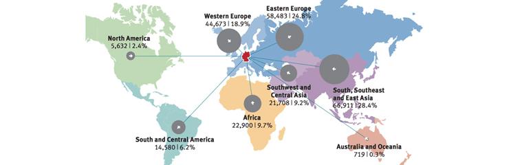 افزایش دانشجویان بین المللی آلمان در سال 2015