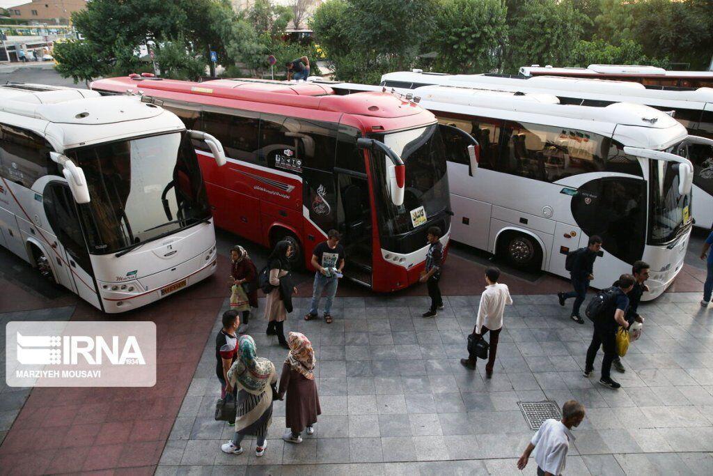خبرنگاران سفر با ناوگان حمل و نقل عمومی جاده ای در خراسان رضوی کاهش یافت