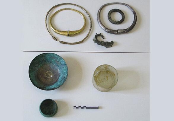 کشف حلقه های قدرت 3000 ساله در زنجان