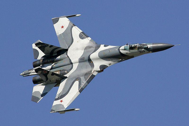 سقوط یک فروند جنگنده سوخو 27 روسیه