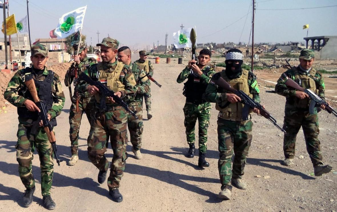 دستیابی الحشد الشعبی به شواهد جدیدی از یاری های اقتصادی آمریکا به داعش