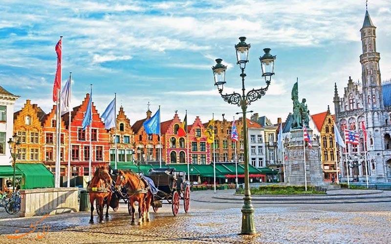 بروژ، شهر مینیاتوری بلژیک!