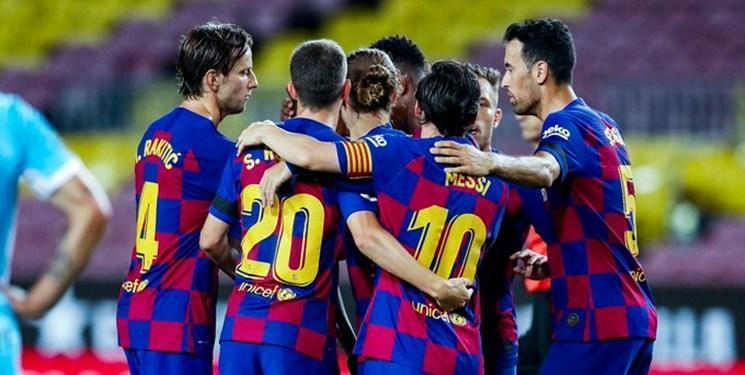 هفته سی ام لالیگا؛ توقف بارسلونا در خانه سویا