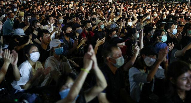 اعتراضات ضد دولت و پادشاه در بانکوک