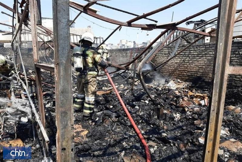 آتش سوزی بازار آسیبی به بناهای تاریخی نداشته است