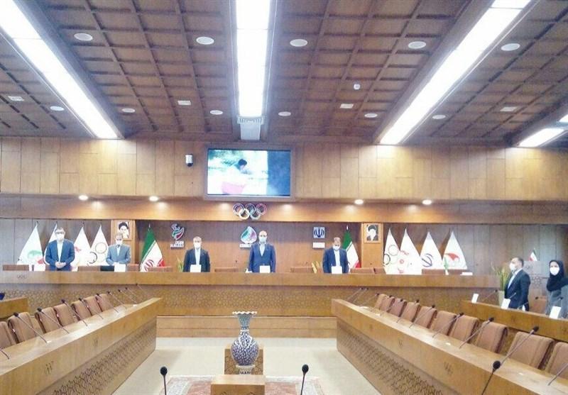 برگزاری مجمع سالیانه فدراسیون اسکی در روز پایانی دوره ریاست افتخاری