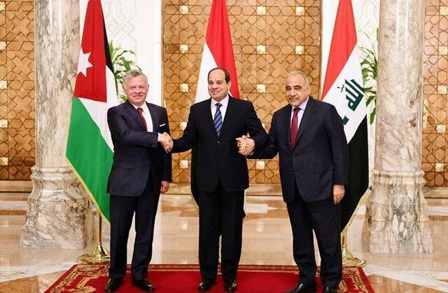 نشست سه جانبه مصر، اردن و عراق در امان